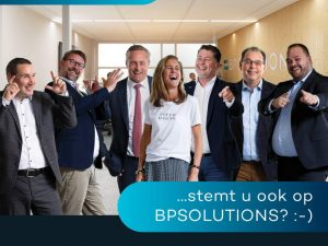 BPSOLUTIONS nominated for 2 Dutch IT Awards