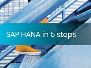 To SAP HANA in 5 steps