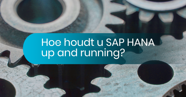 SAP HANA up and running